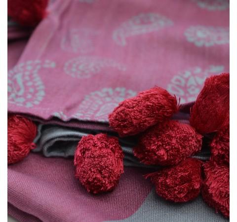 hand woven fair trade scarf