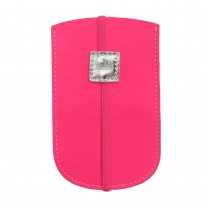 hot pink phone cover