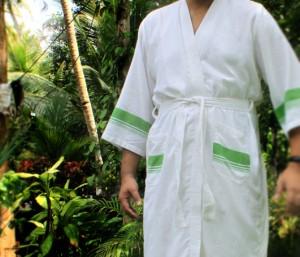 A Kara Weaves robe
