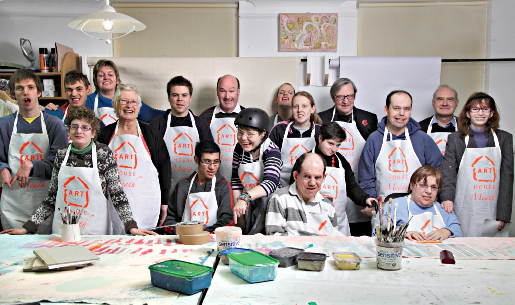 Artists from the Arthouse Meath workshops