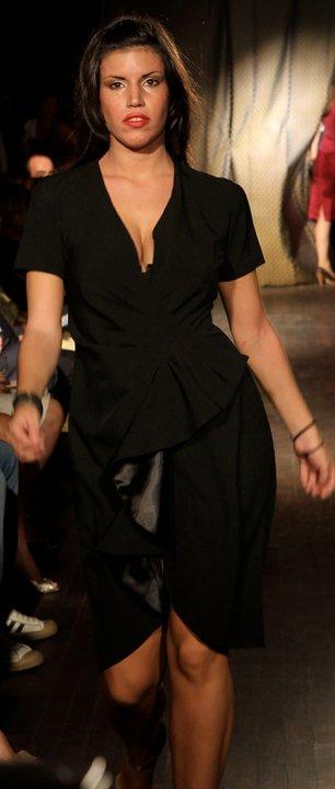 A model wearing Liz Cardenas