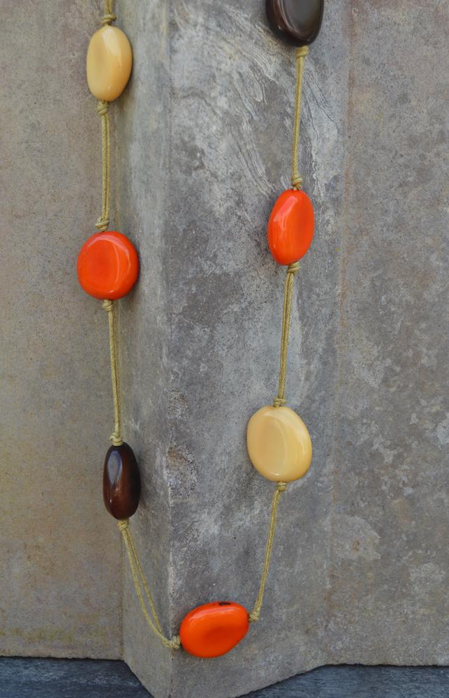 Long Tagua pendant