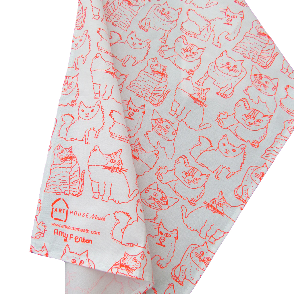 Cat Themed Kitchen Towels: Cat & Dog Themed Gift Ideas