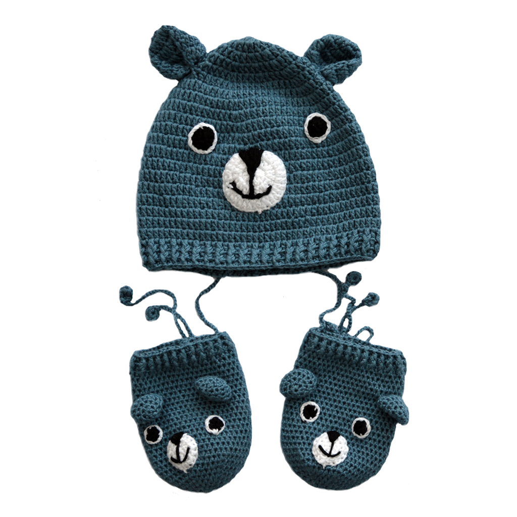 bamboo hat & mittens