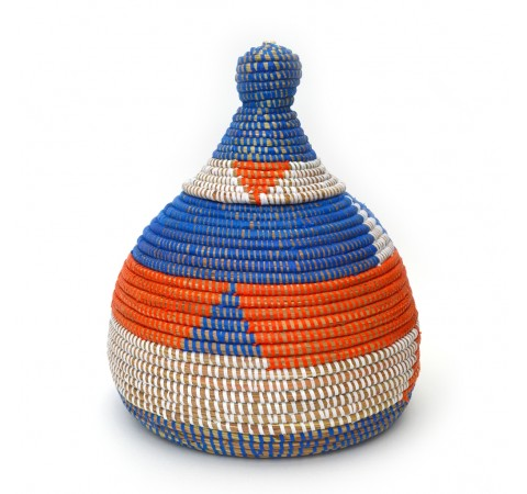 Eco-Friendly Hand-Woven Alibaba Conical Pot