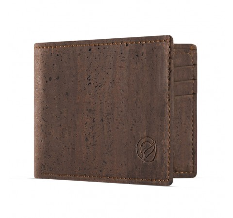 Eco-Friendly Slimline Cork Men's Wallet