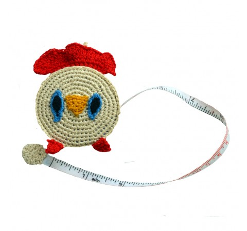 Handmade Fairtrade Animal Tape Measures