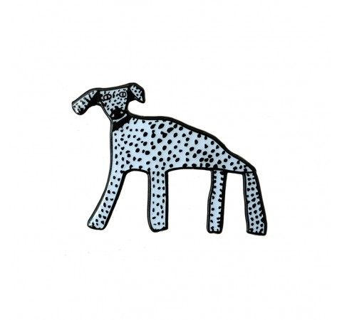 Spotty Dog Brooch