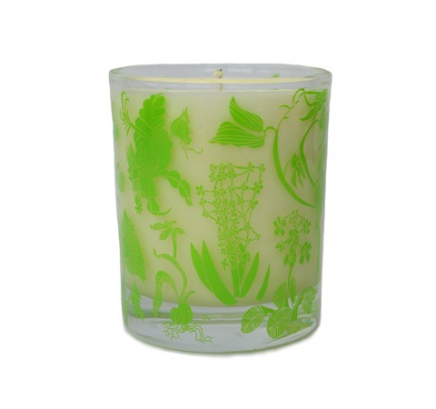 Organic Plant Wax Candle- Floral