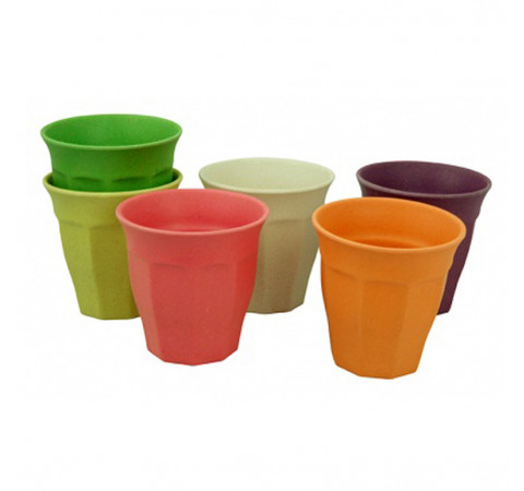Eco-Friendly Bamboo & Cornstarch Cups - Large