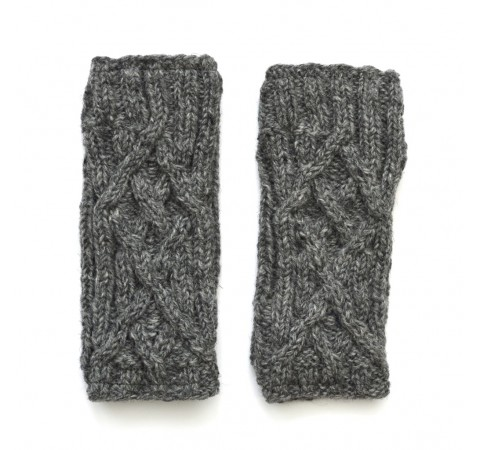 Fair Trade Hand Knitted Wristwarmers