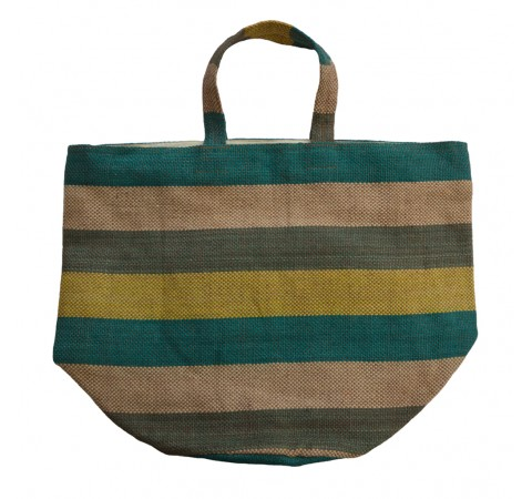 striped summer bag