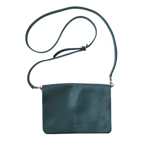 ethical leather bag