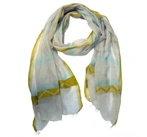 fine cotton summer scarf