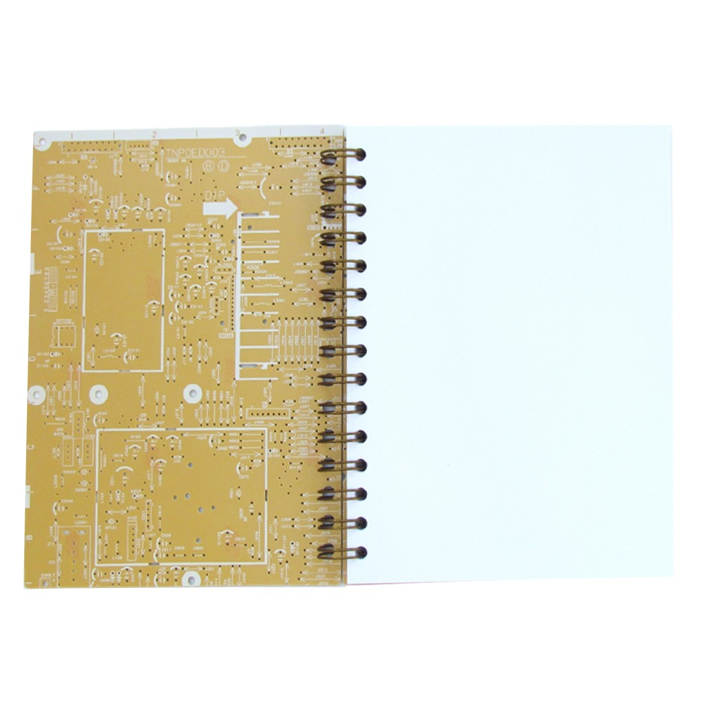 Real Circuit Board Notebook Best Electrical Wiring Diagram Reclaimed With Recycled Paper Pen Usb