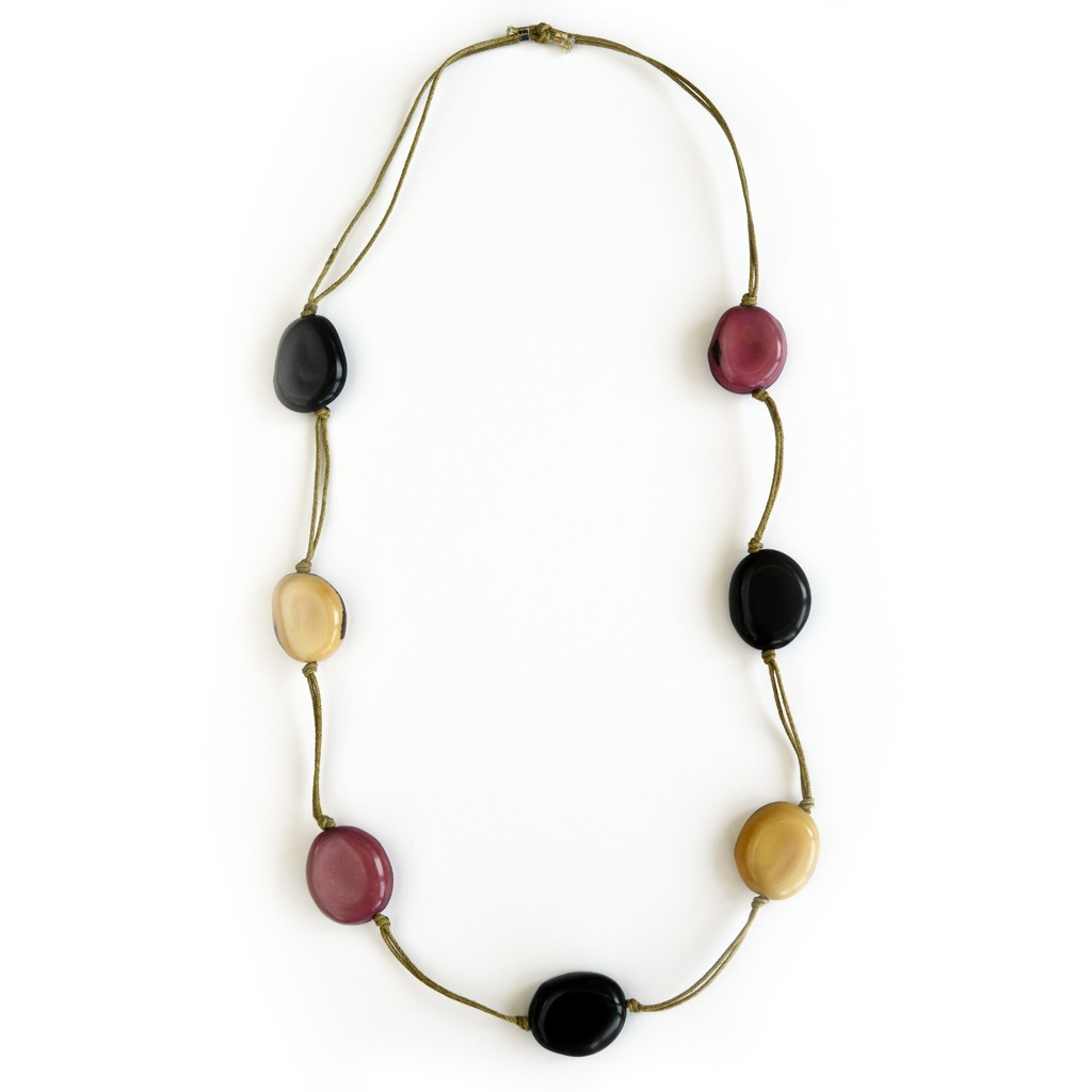 sustainable c tagua jewelry necklaces choker calamar etsy bib il necklace eco