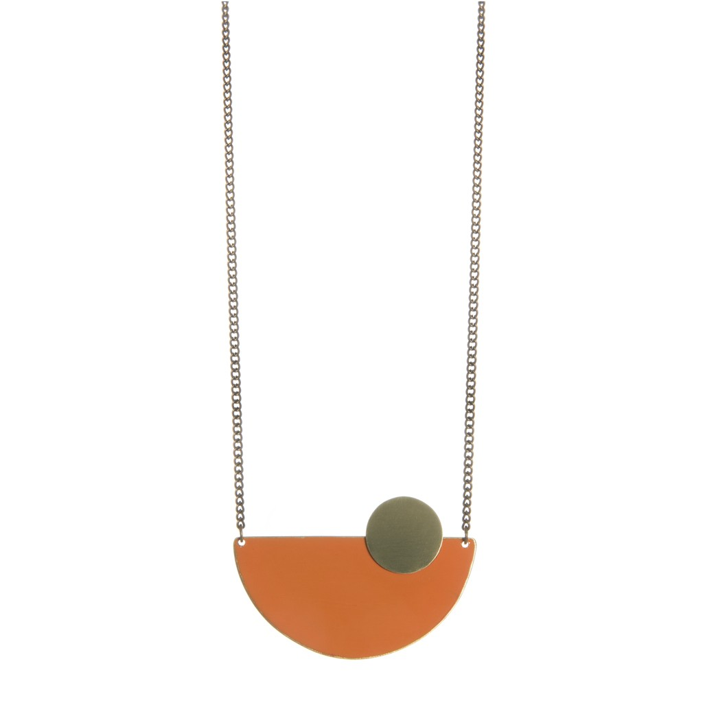 jewellery tribal pin and necklace by pendant market lumo hammered on scoutmob brass pinterest