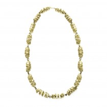 Fairtrade Brass Ribbon Necklace - Laurita