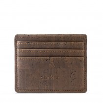 Eco-Friendly Cork Credit Card Holder
