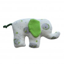 Organic Cotton Elephant Soft Toy