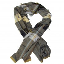 hand woven luxury scarf