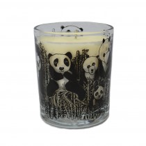 Organic Plant Wax Candle-Panda Party