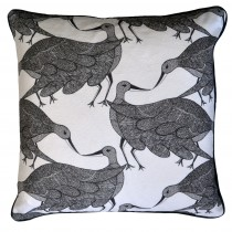 grey and putty cushions