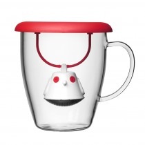 mug with tea infuser