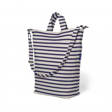 Baggu Recycled Cotton Canvas Duck Bag-Striped