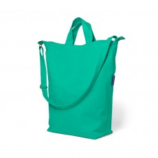 Baggu Recycled Cotton Canvas Duck Bag-Peacock Green