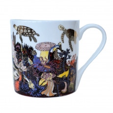 Fine Bone China Mug-Angels of The Deep