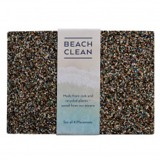 Eco-Friendly Beach Clean Placemats-set of 4
