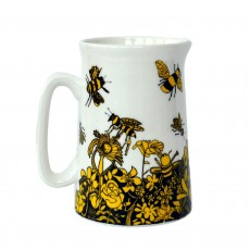 Fine Bone China Half Pint Jug-'Bee Free'