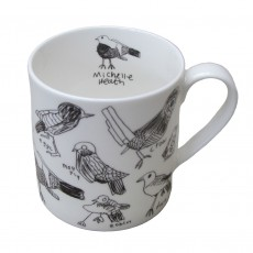 Fine Bone China Mug-Birds