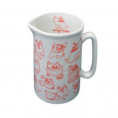 Fine Bone China Cat Jug – 1 Pint
