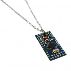 Upcycled Circuit Board Necklace