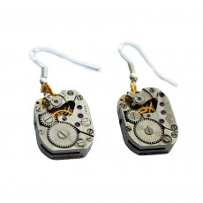Upcycled Watch Piece Earrings