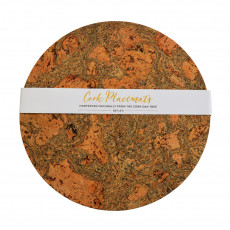 Eco-Friendly Cork Round Placemats-set of 4