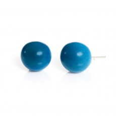 Fair Trade Tagua Cosmic Ball Stud Earrings