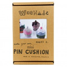 Make Your Own Eco-Friendly Cup Cake Pin Cushion Craft Kit