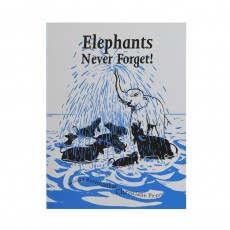 Handmade Books From Tara Books - Elephants Never Forget