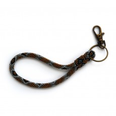 Fair Trade Handmade Beaded Keyring
