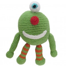 Handmade Fairtrade Crochet Monster Toy