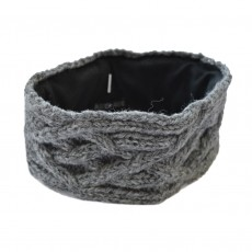 Fairtrade hand Knitted Wool & Fleece Headband