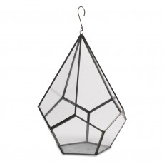Fairtrade Recycled Glass Hanging Plant Holder