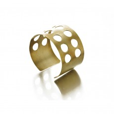 Fairtrade Brass Cuff - Inca