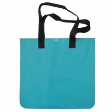Flat Jumbo Leather Tote Bag