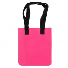 Flat Leather Tote Bag