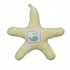 Organic Cotton Starfish Soft Toy
