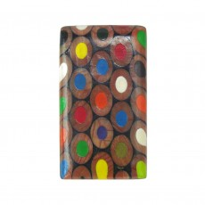 Recycled Derwent Colouring Pencil Brooch